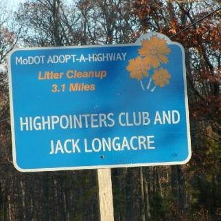 Jack Longacre Cleaning Job on County Route CC