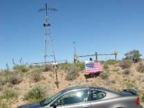 Kansas-Colorado-Oklahoma Tripoint - Cimmarron County During Black Mesa 2002 Highpointers Convention