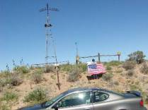 Kansas-Colorado-Oklahoma Tripoint - Cimmarron County During Black Mesa 2002 Highpointers Convention