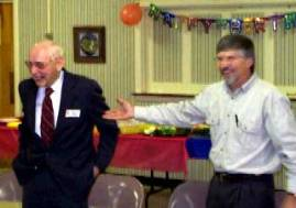 """Paul's son proclaims """"Dad is so old, he had to wear a nametag to his own birthday party to remember who he is."""""""