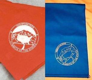 Bandana with Club logo in silver
