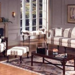 Queen Anne Living Room Sets Grey And Green High Point Furniture Nc Store Sofa Loveseat Set 1375 98