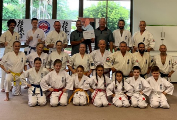 Sponsorship of Kyokushin Karate Gold Coast