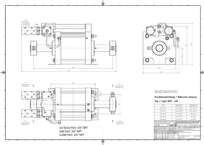 GPD-260 – High Pressure Pumps