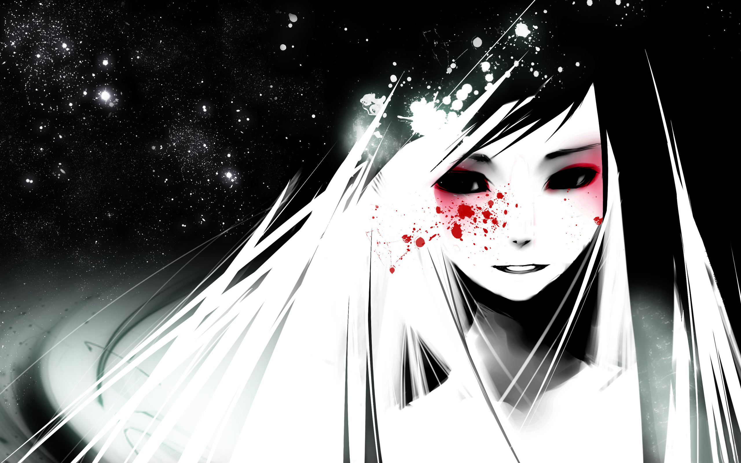 Dark Anime Cartoon Girl Hd Image  Hd Wallpapers