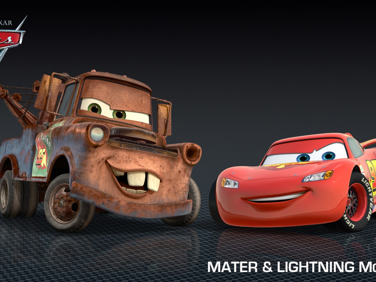 Mater & Lightning Mcqueen From Cars 2  Hd Wallpapers