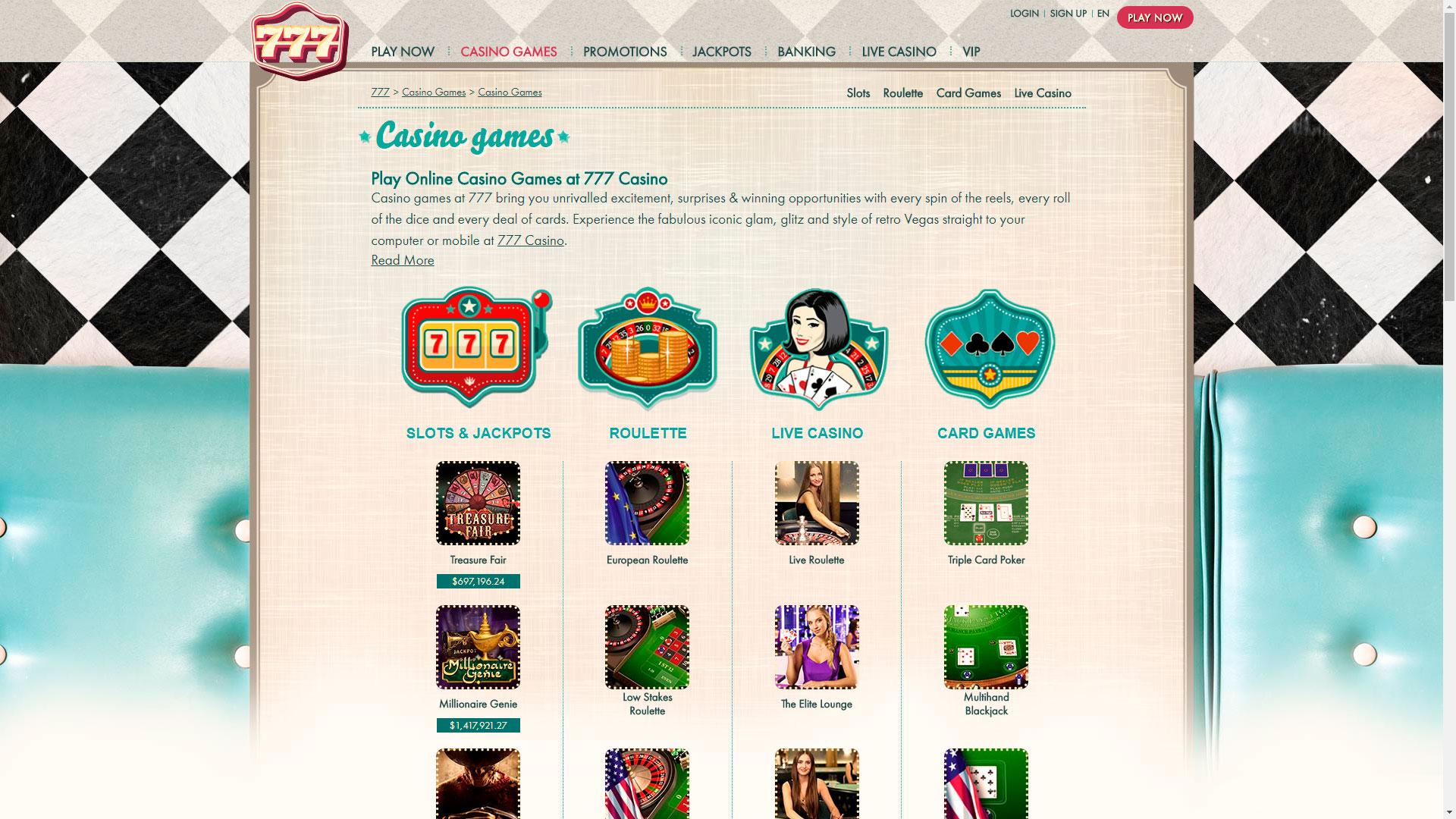 777 High Roller Casino Casino
