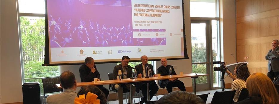 La Universidad APEC y La Universidad Internacional de Cataluña presentan investigación en el V Congreso Catedras Scholas