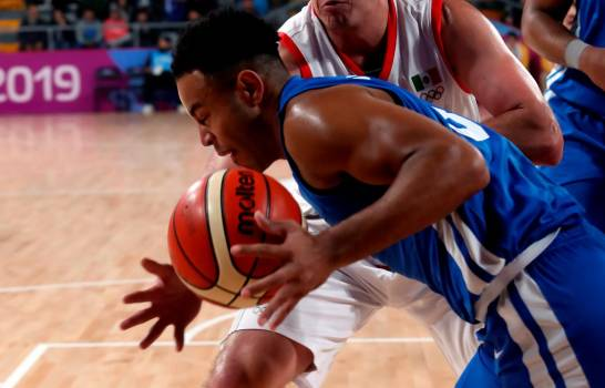 Dominicana vence a México en tiempo extra, en el baloncesto panamericano