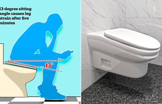 Diseñan inodoro para que empleados duren menos tiempo en el baño