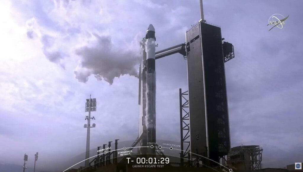SpaceX logra exitosa última prueba antes del lanzamiento de astronautas de la NASA