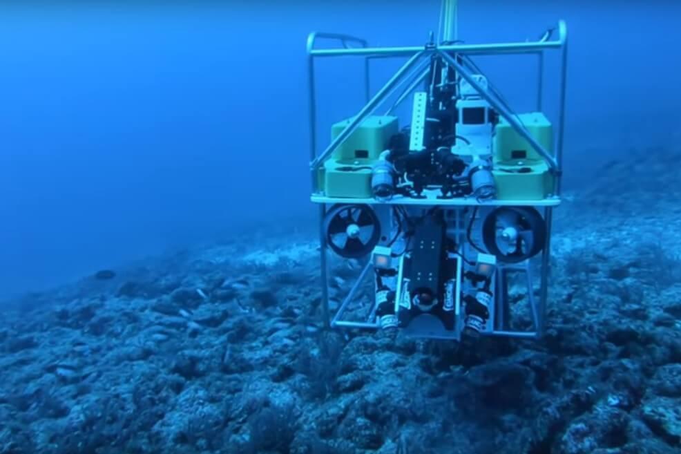 """Barrendero de arrecifes"", el robot de la Florida que va tras el pez león"