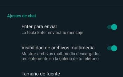 Cómo activar el tema oscuro de WhatsApp