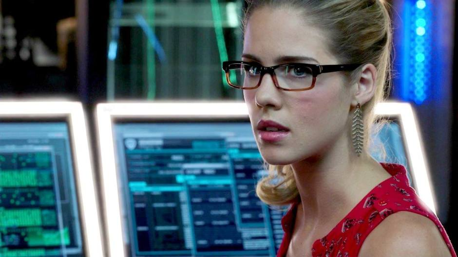 "Emily Bett Rickards plays Felicity Smoak on CW's ""Arrow""."