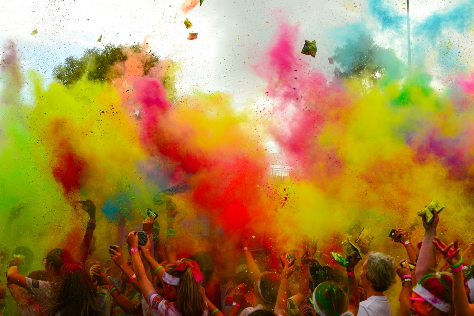 The 2014 Color Run in Melbourne. Photo from creativecommons.org