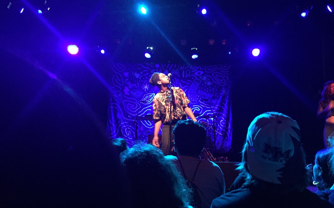 Shamir 'makes a scene' to remember during his fall concert tour