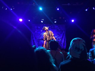 """Shamir opens with first track """"Vegas""""."""