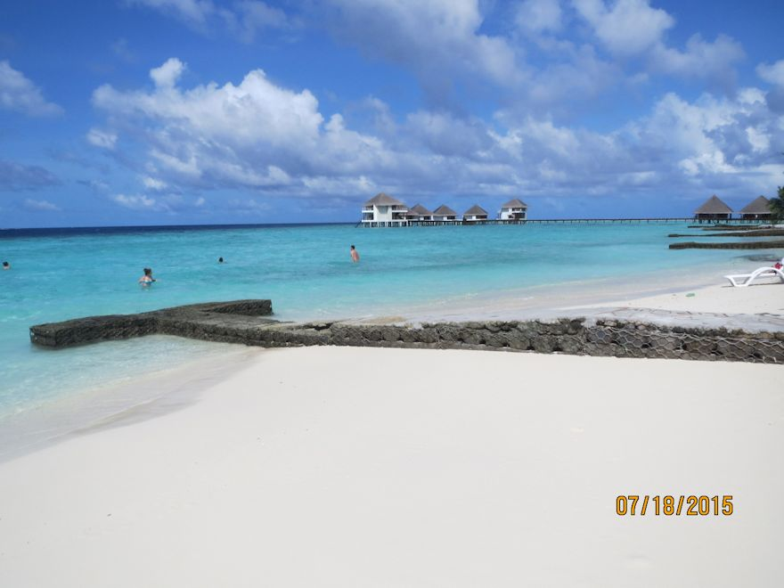 Incredible white beaches that are fine like powder