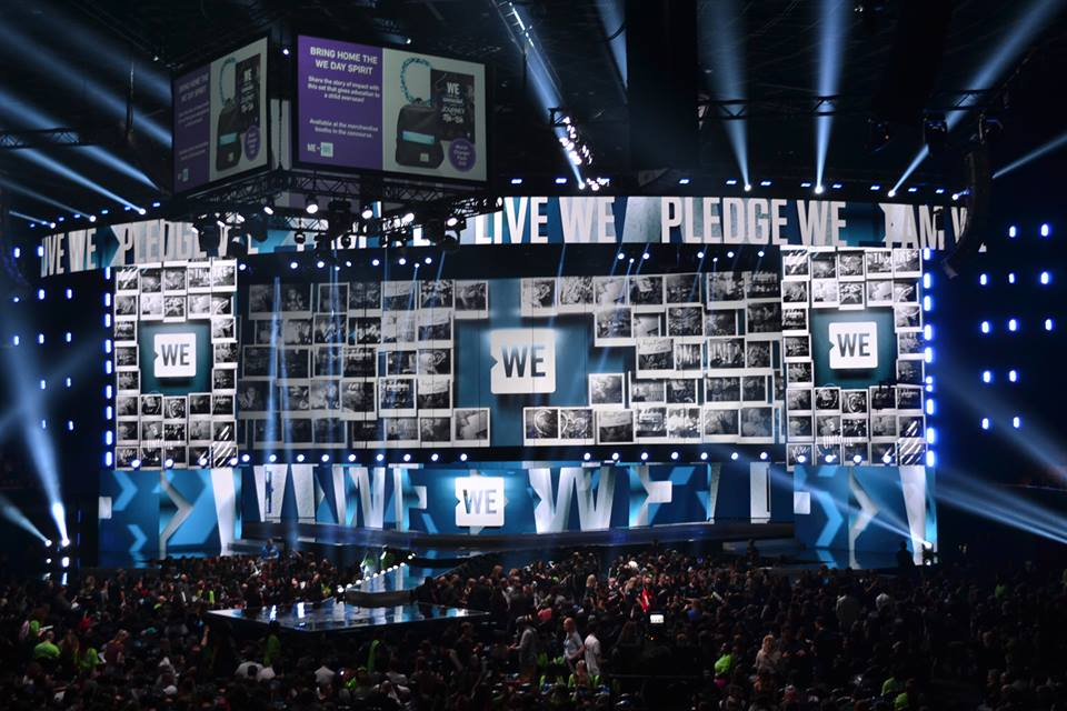 WE Day 2016: Uniting celebrities and students