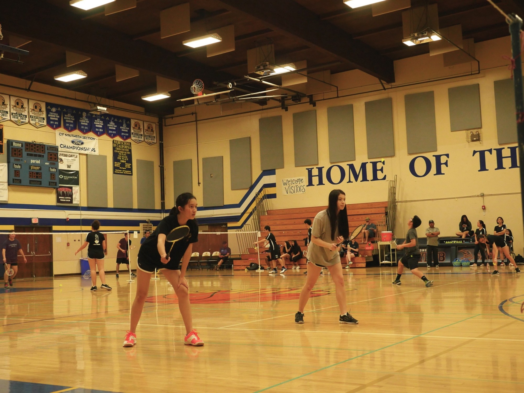 CHHS' First Match in School History