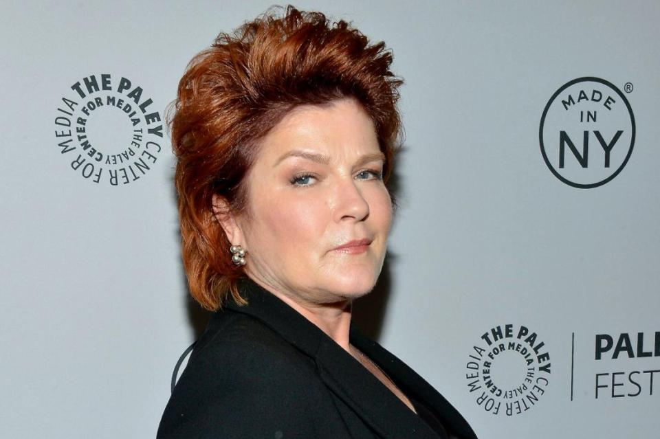 """Actress Kate Mulgrew claims she was duped to narrate The Principle. """"I was a voice for hire, and a misinformed one,"""" she stated."""