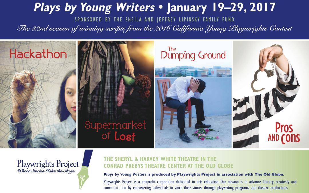 2016 California Young Playwrights Contest winners