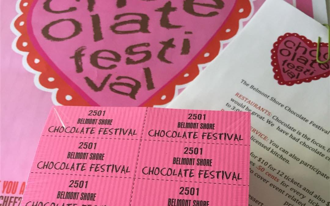 A chocoholic's dream? The 13th annual Belmont Shore Chocolate Festival