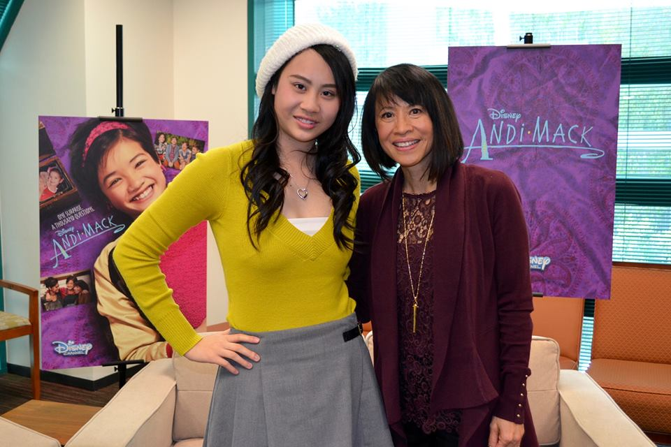 Interview with the Women of Disney Channel's 'Andi Mack': Lilan Bowden & Lauren Tom