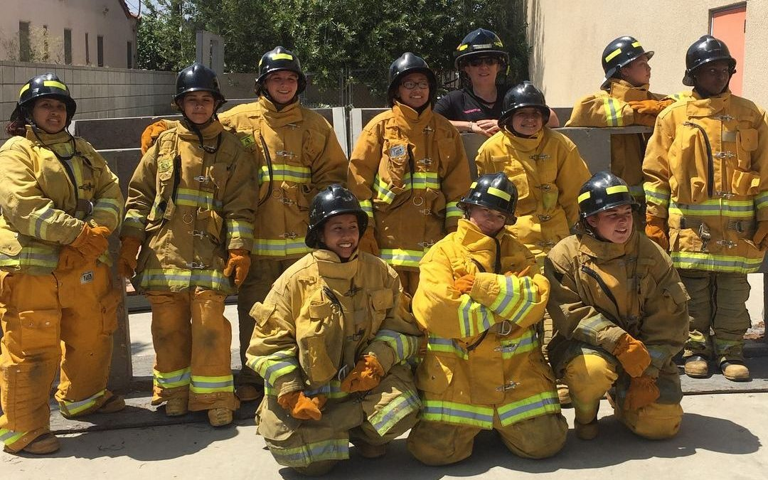 Igniting a spark for LAFD: Fighting fire with females