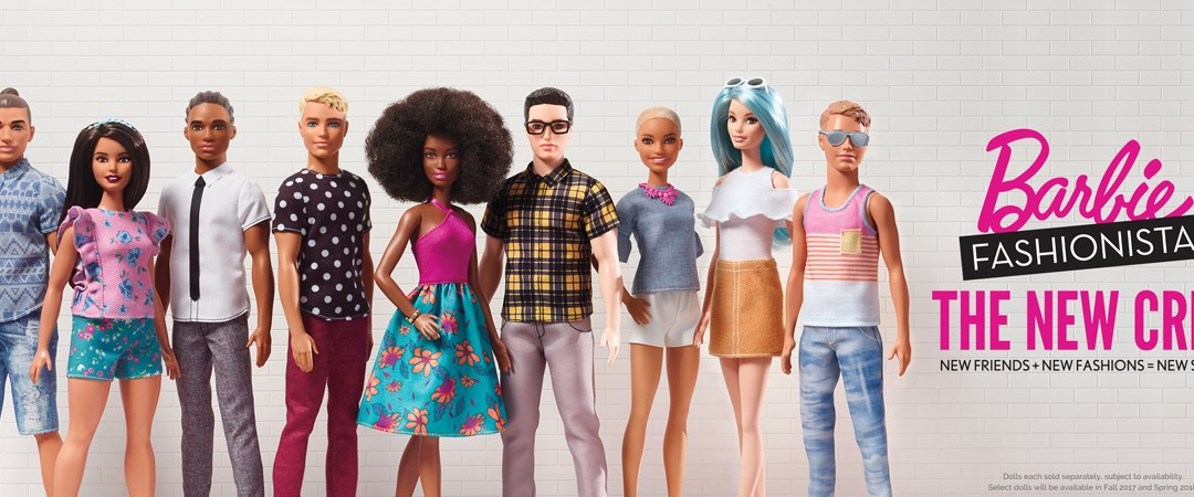 New Barbie dolls challenge beauty norms but emphasize today's beauty-obsessed world