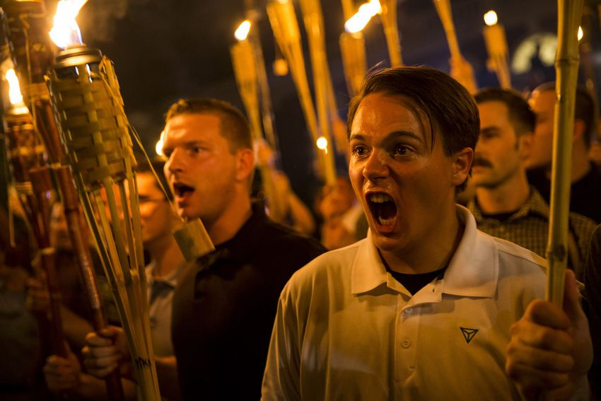 Donald Trump refuses to condemn the white supremacists of Charlottesville