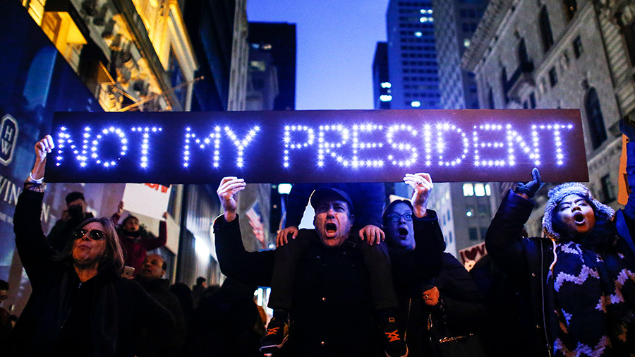 A leftist's opinion: Not 'Not My President'