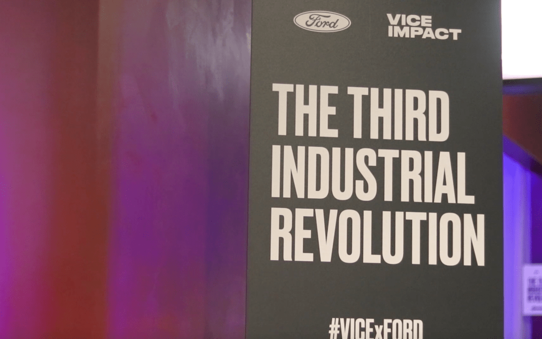 Ford and Vice partner to host exclusive screening of 'The Third Industrial Revolution'