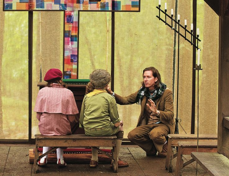 Wes Anderson: The man behind the lens