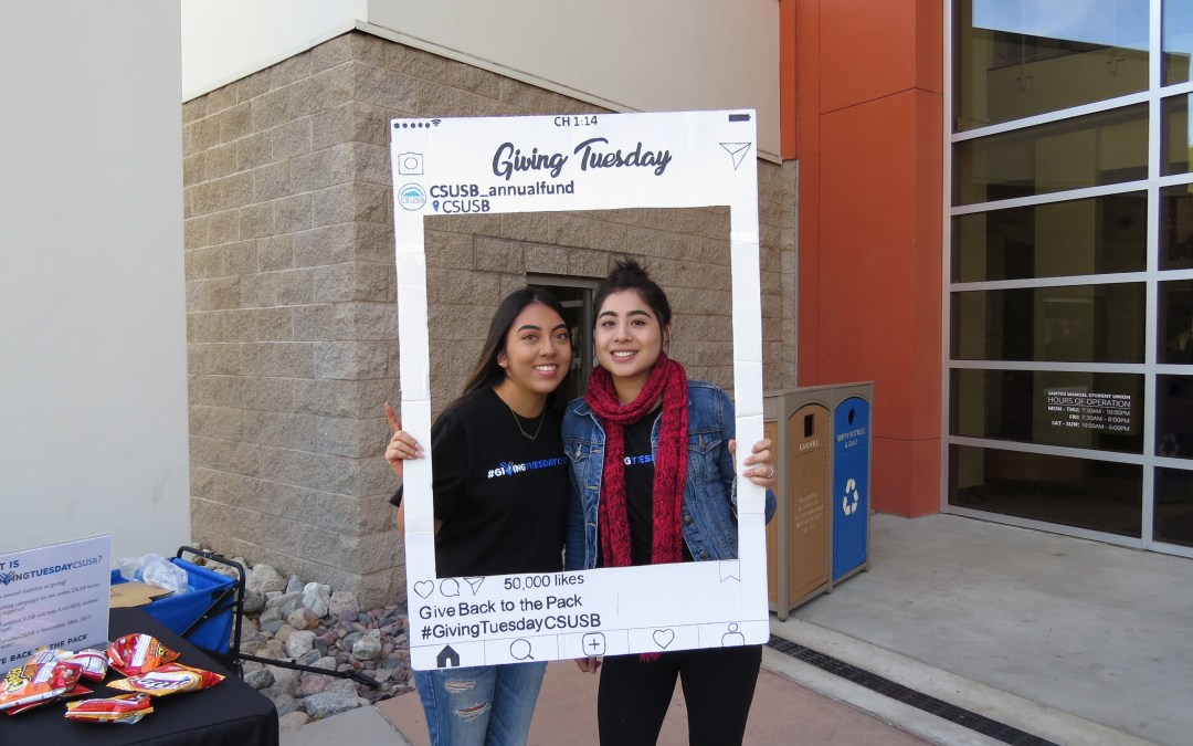 CSUSB raises money for scholarships with Giving Tuesday
