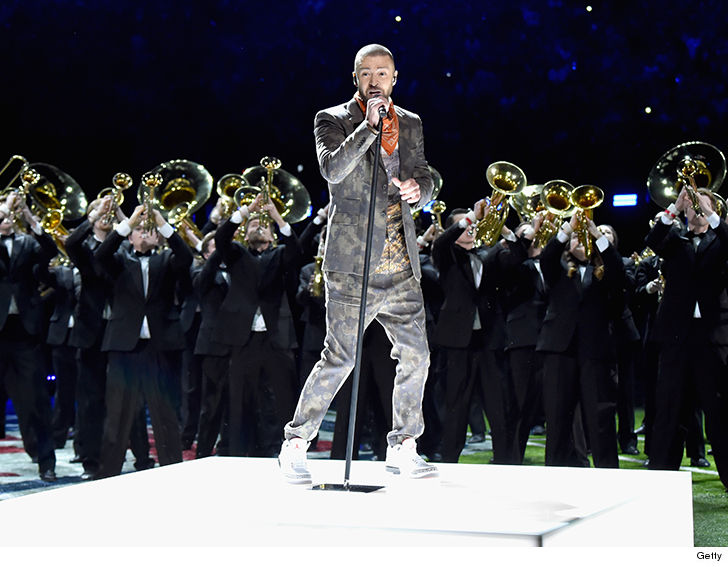 So about that Halftime performance…