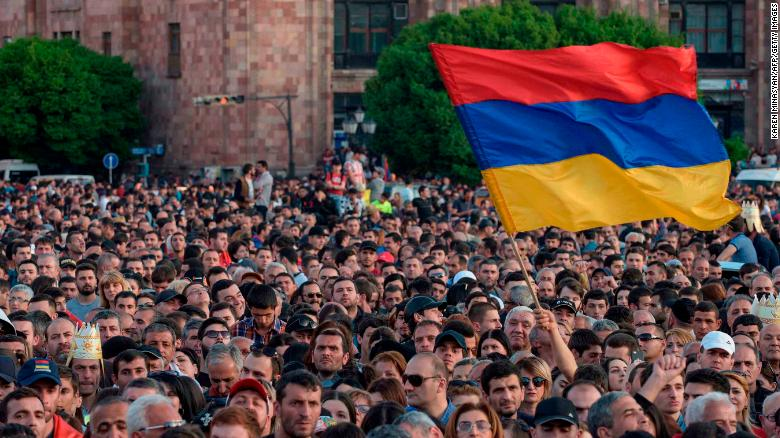 Op-Ed: Armenia's 'velvet revolution' should be a model for other countries to follow