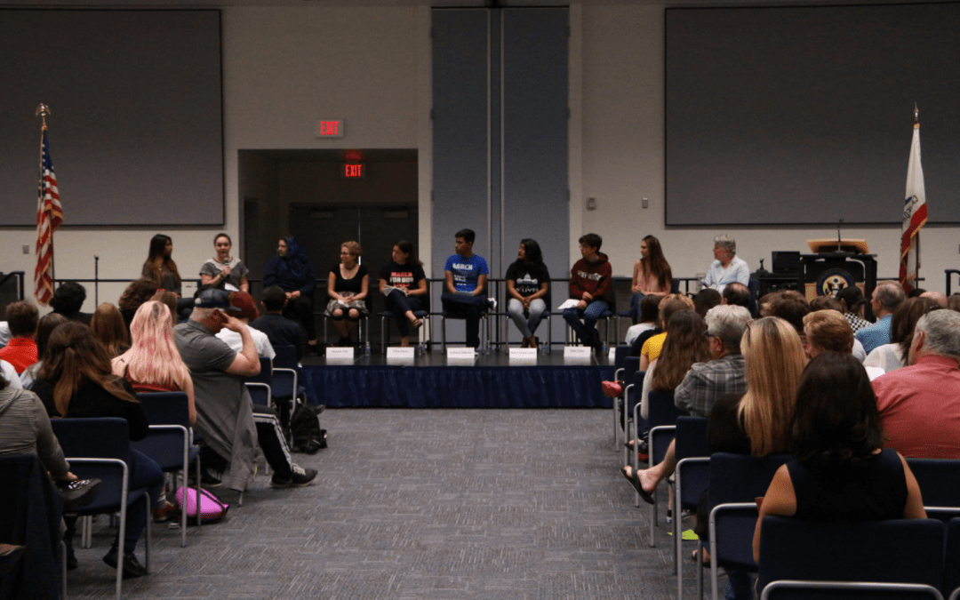 Students in town hall meeting advocate against gun violence