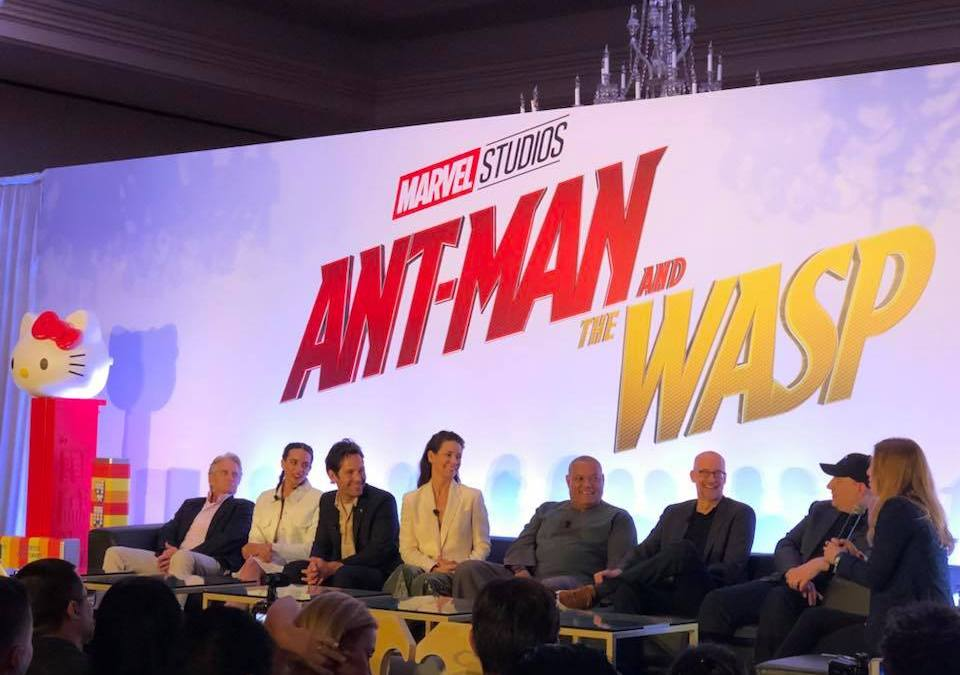 Five Times Evangeline Lilly Slayed at the 'Ant-Man And the Wasp' Press Conference