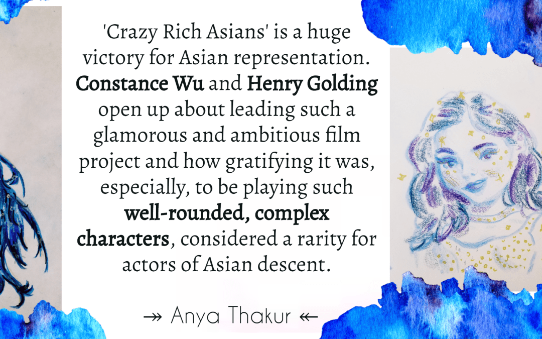 A conversation with Constance Wu and Henry Golding on 'Crazy Rich Asians'