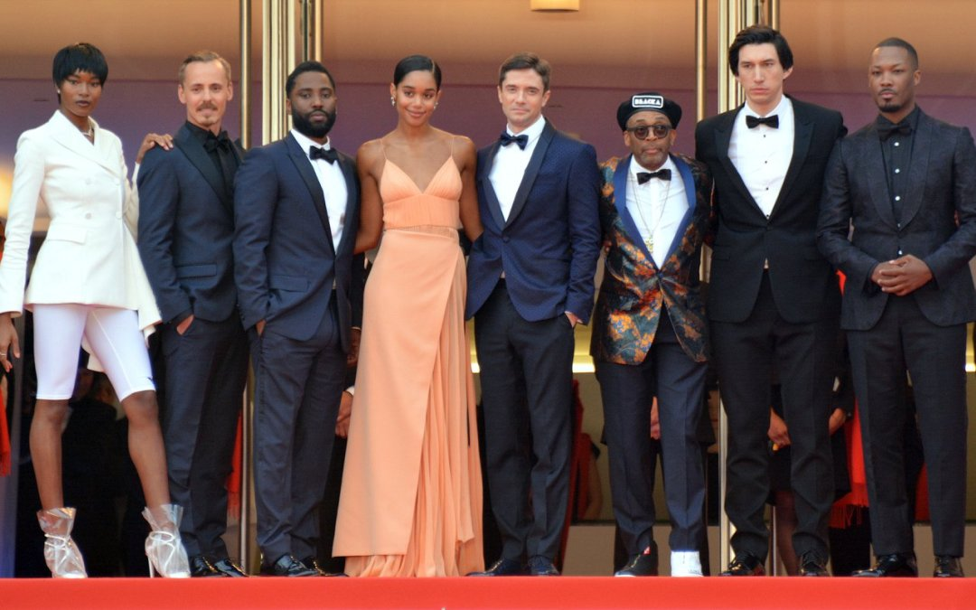 Laura Harrier and Topher Grace from 'BlacKkKlansman' share their experience on this groundbreaking film