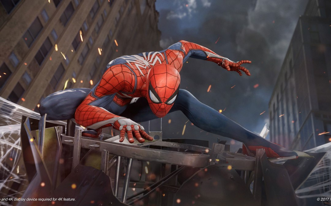 'Marvel's Spider-Man' for PS4 swings higher than ever