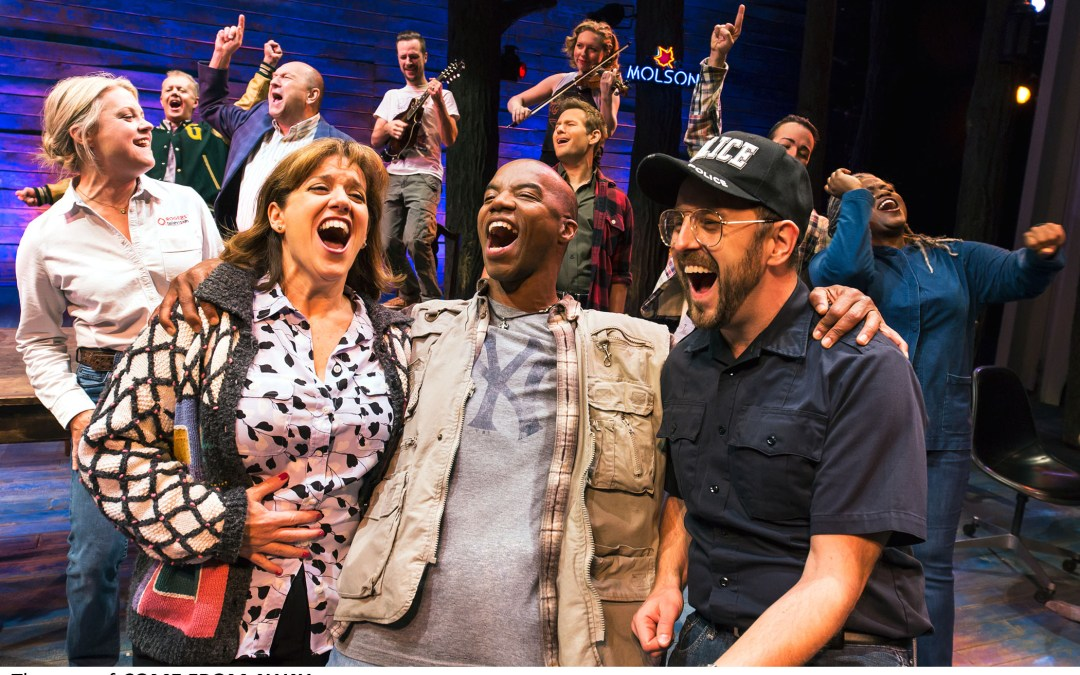 You are here: An interview with Broadway star Sharon Wheatley in 'Come From Away'