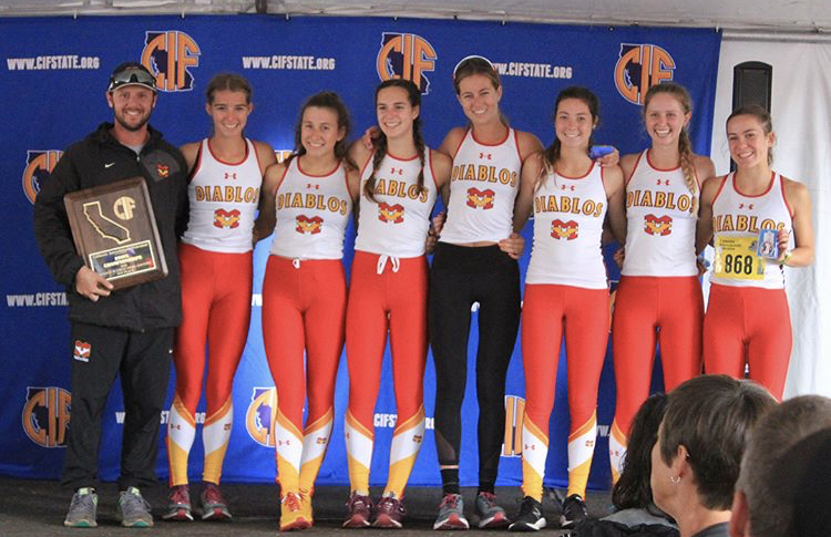 The 2018 season went down in the record books for MVHS girls cross country team
