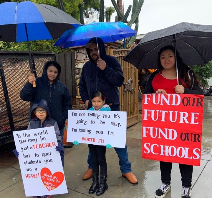 Opinion: LAUSD strike's effect on students