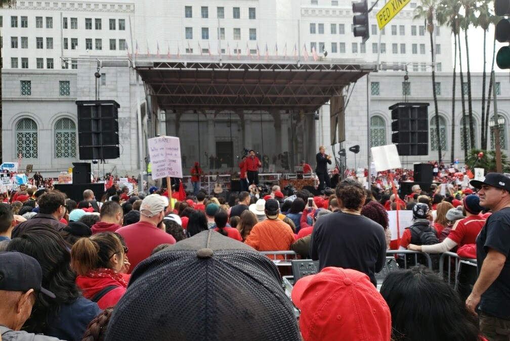 Lessons from the L.A. Teacher Strike's student activists