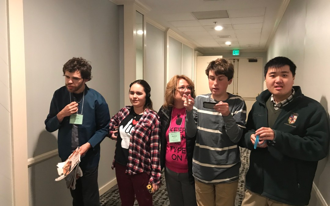 Fighting for the right to communicate at Cal-Tash 2019