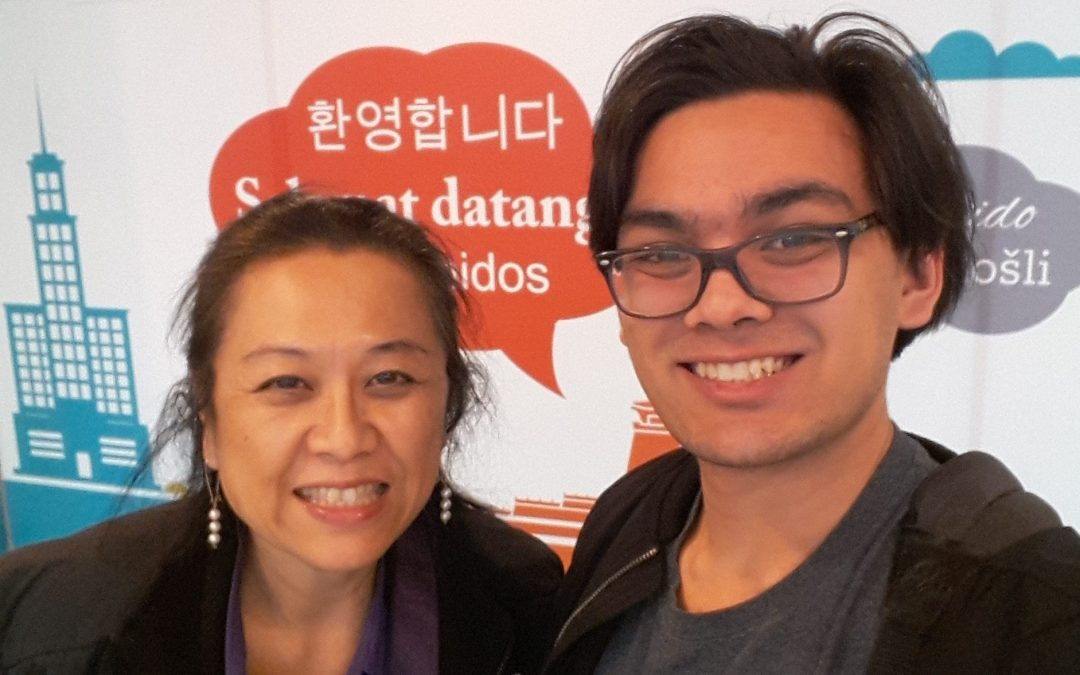 Taking my mother back to Taiwan