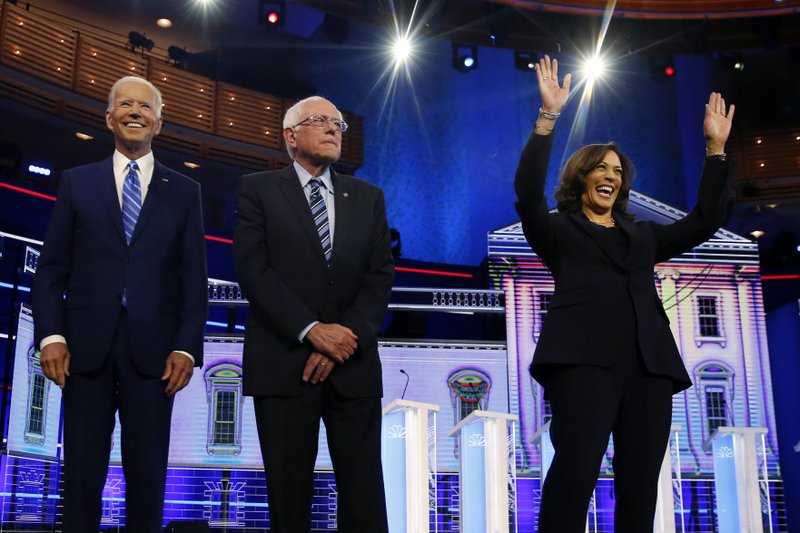 Recap: Tension over age and race adds sparks to Dems' second debate night in Miami