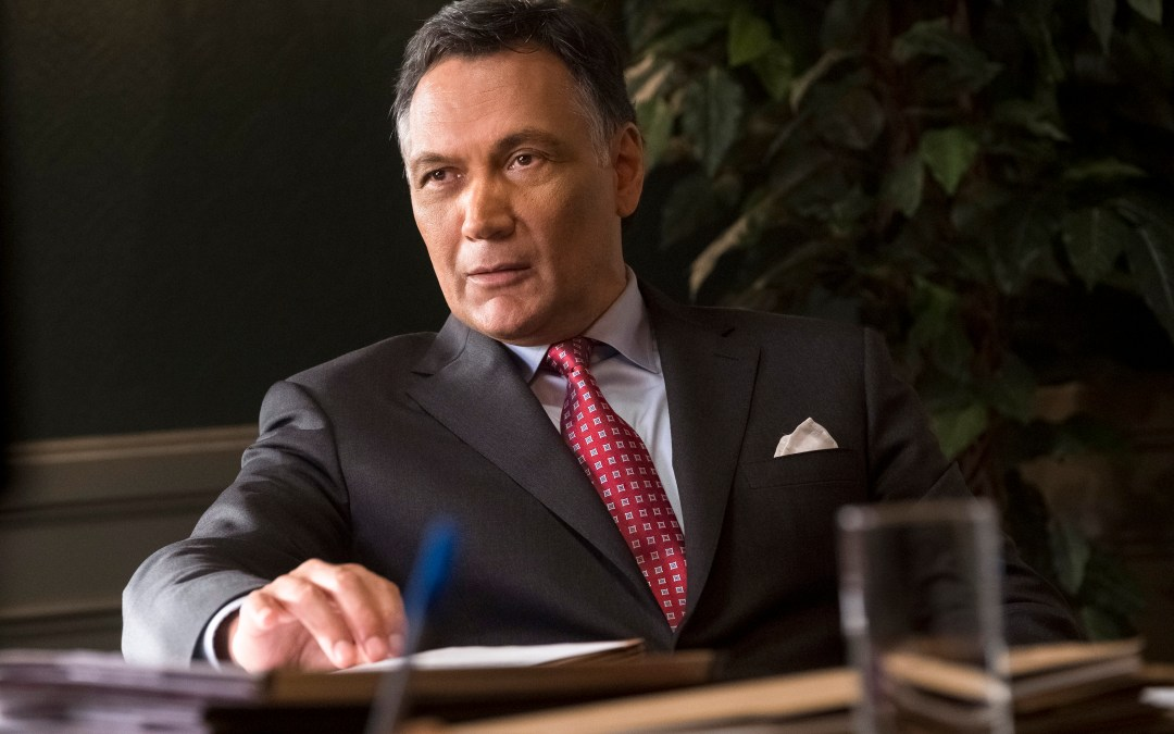 An interview with Jimmy Smits, television's veteran lawyer